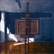 Dark Studio painting by Richard Harby